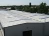 Powierzchnia dachu z plyt warstwowych